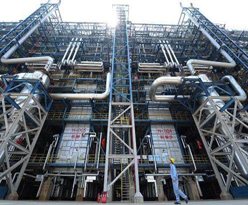 武汉80万吨乙烯设备与管道