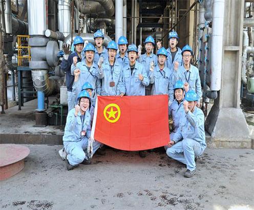 我公司在武汉石化炼油二